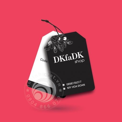 Combo banner tag treo 25cm-15