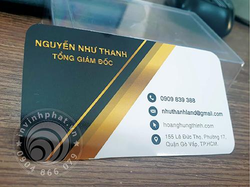 Banner thẻ nhựa 600-11