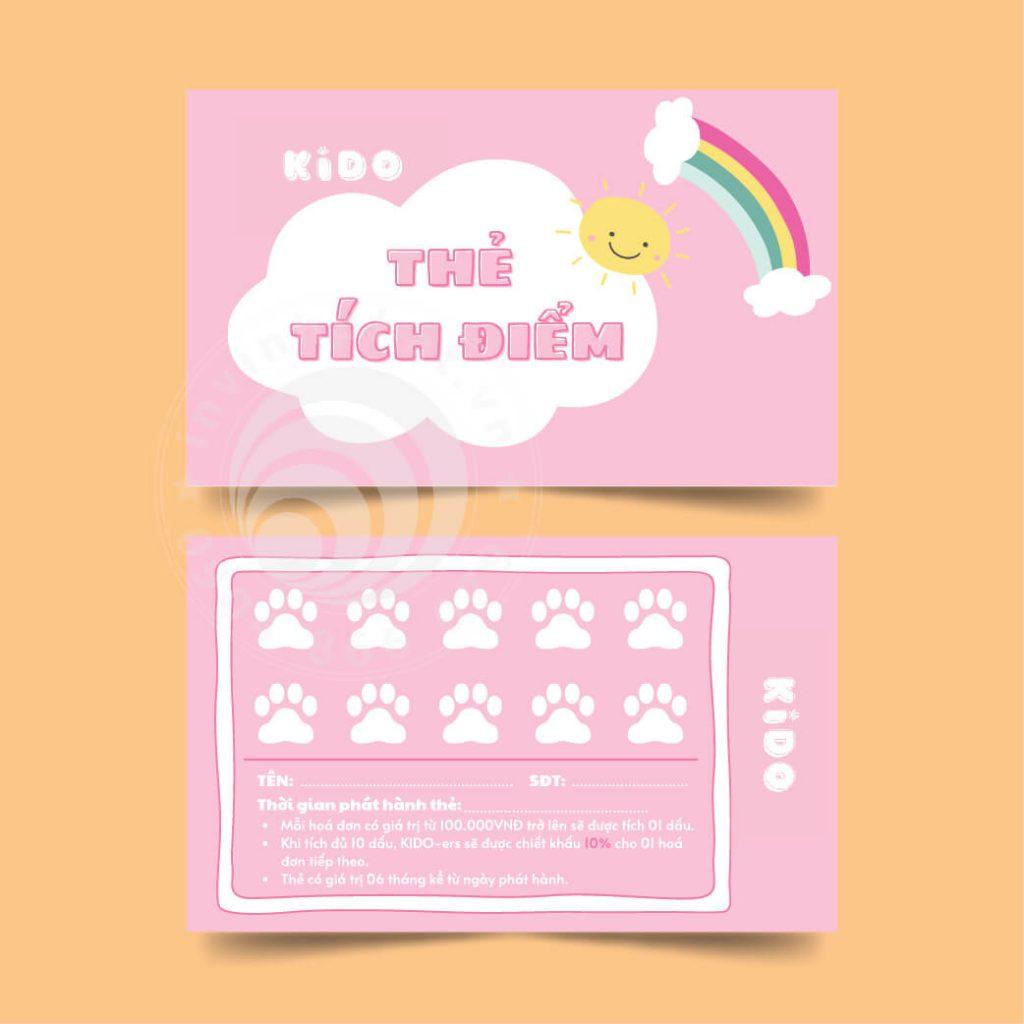 banner thẻ tích điểm in vĩnh phát 500-09