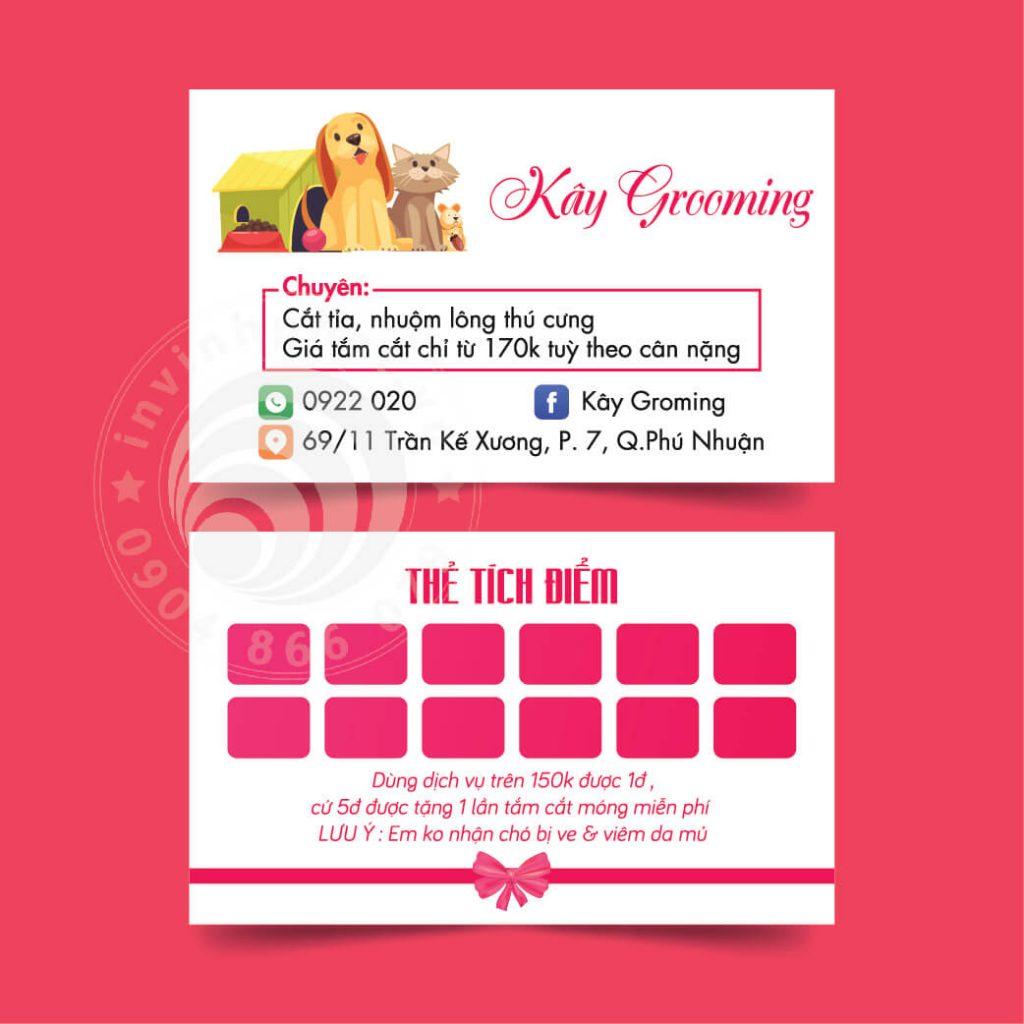 banner thẻ tích điểm in vĩnh phát 500-12